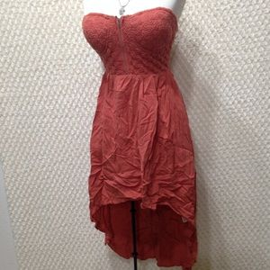 POETRY Coral Dress